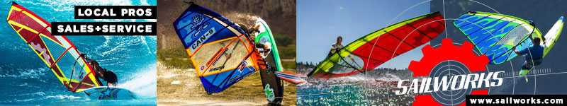 Sails, Masts, apparel, windsurf gear